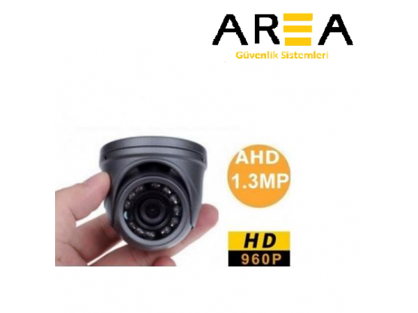 1.3MP 2.8MM 12 LED MİNİ DOME ARAÇ KAMERASI AR-218