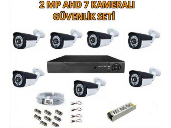 2 Mp Ahd 7 Kameralı Güvenlik Seti