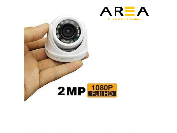 2MP 1080P 2.8MM 12 LED MİNİ DOME ARAÇ KAMERASI AR-216