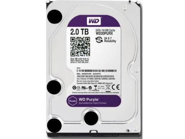 2 TB Western 3.5'' Dijital Güvenlik Hard Diski