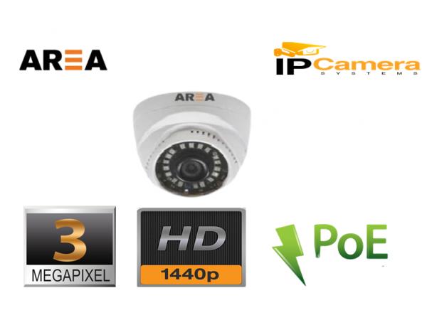 3MP FULL HD İP  DOME KAMERA