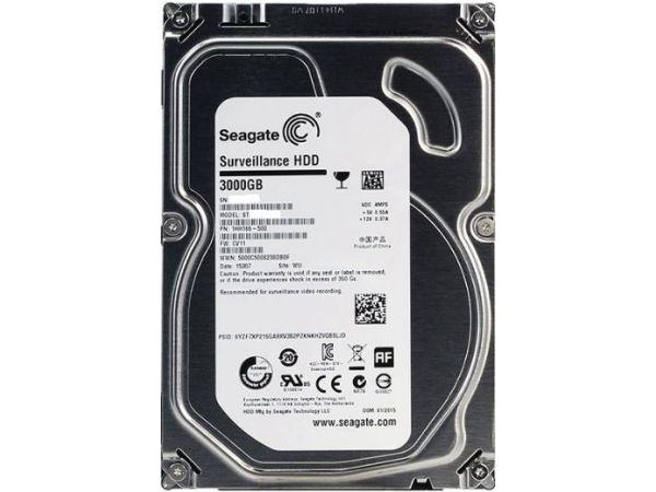 3 TB Seagate 3.5 İnc Güvenlik Harddiski