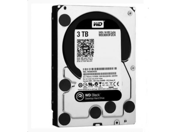 3 TB WESTERN DİGİTAL 3.5 İNÇ 7200 RPM HARD DİSKİ