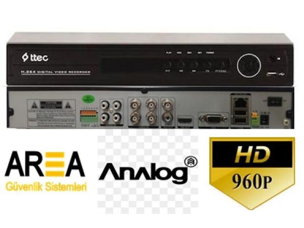 4 Kanal CIF H.264 ANALOG DVR Kayıt Cihazı