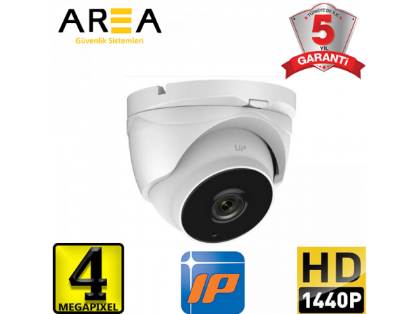 İP 1440  DOME CAM 4.0MP 3,6M AR-514 İPO POE