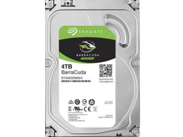 4 TB Seagate 3.5 İNÇ Güvenlik Hard Diski
