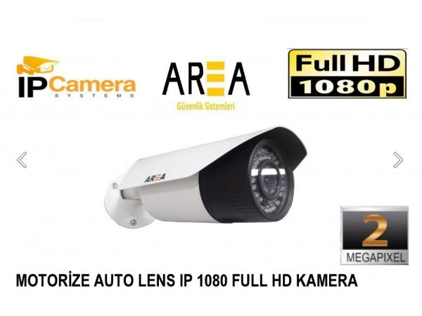 Motorize Lens IP 2MP 1080 HD Kamera