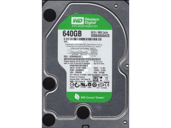 640 Gb Western 3,5 İnç Digital Güvenlik Hard Diski