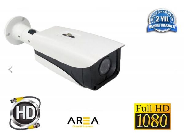 FULL HD 2 MP 1080P AHD GÜVENLİK KAMERASI 4 ATOM LED Lİ