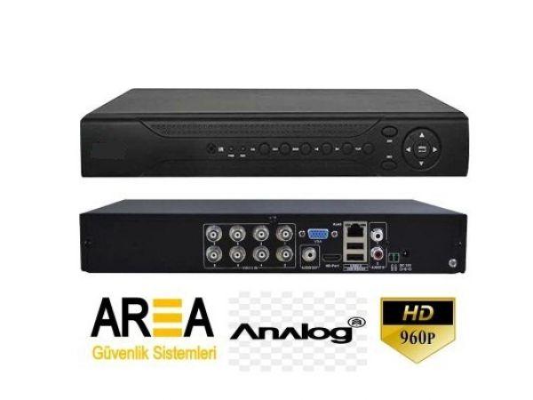 DVR-1208 8 Kanal CIF H.264 ANALOG DVR Kayıt Cihazı