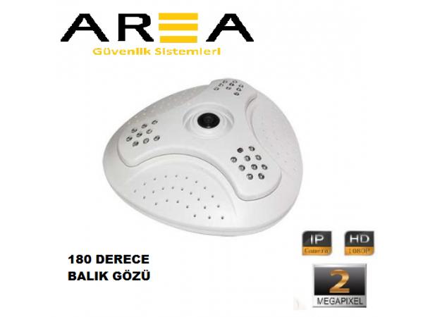 2MP 1080P IP BALIK GÖZÜ GÜVENLİK KAMERASI AR-272