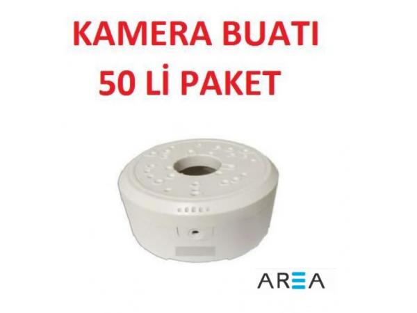 Kırılmaz Kamera Montaj Buatı Yuvarlak 50 ADET AR-BUAT50