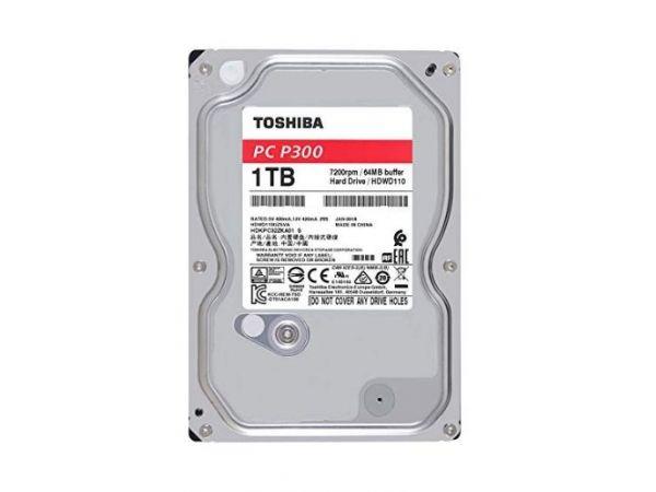 1.0 TB TOSHIBA 3.5 İNÇ GÜVENLİK HDD