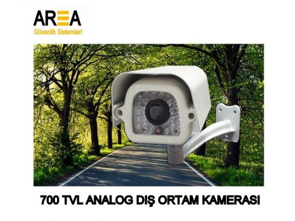 Area 700 TVL Analog Gece Görüşlü Dış Ortam Güvenlik Kamerası AR-700