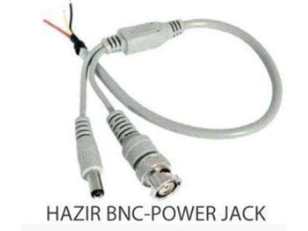HAZIR BNC VE POWER JACKLI KABLO AR-3512