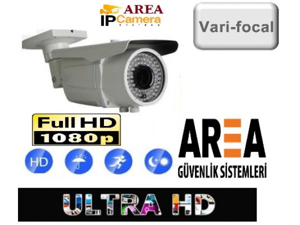 2 MP IR İp Kamera 2.8-12 Mm Varifocal Lens 72LEd