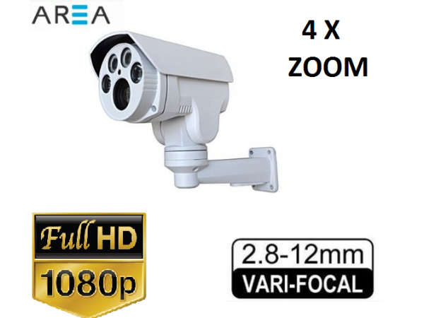 2MP 1080P 4 Atom Led Motorize 4X Zoom Güvenlik Kamerası AR-650
