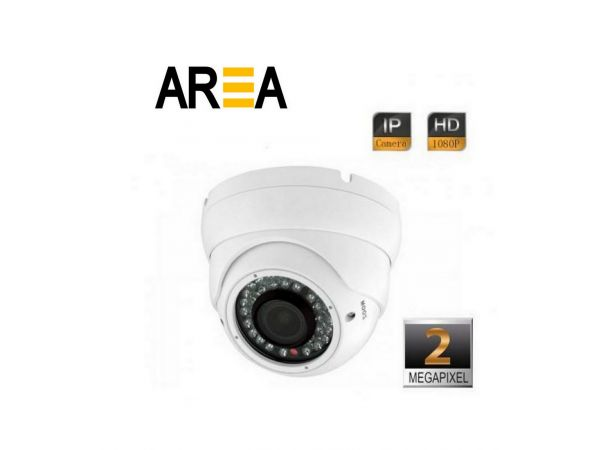 2MP 1080P IR Dome 2.8 - 12mm Varifocal Lens IP Kamera
