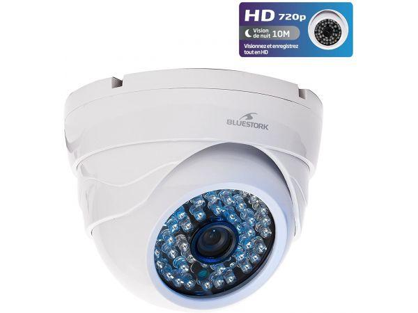 Sabit HD 720p WiFi Gece Görüşlü Kamera -