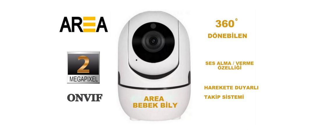 AREA BEBEK BLİY 2MP  Bebek Kamerası Harekete Duyarlı Takip Kamera