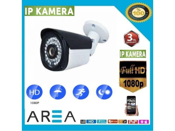 2MP 1080P Gece Görüşlü 3.6MM 36LED Ip Güvenlik Kamerası