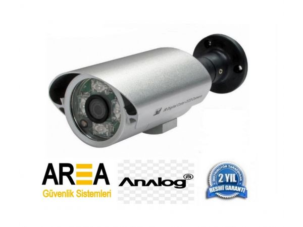 1000 TVL 4 Atom Led Analog Metal Kasa Güvenlik Kamerası AR-6073