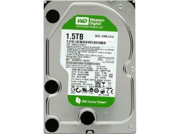 Western Digital 3.5 İNÇ 1.5 TB HARDDİSK