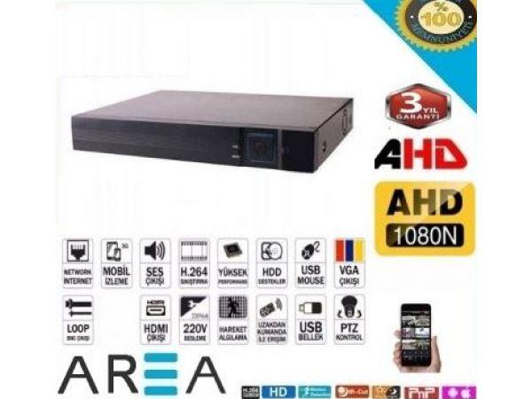 4 Kanal  AHD Dvr FULL HD Kayıt Cihazı Xmeye