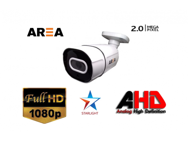 2MP 1080P FULL HD METAL KASA STARLİGHT GECE GÖRÜŞLÜ GÜVENLİK KAMERASI