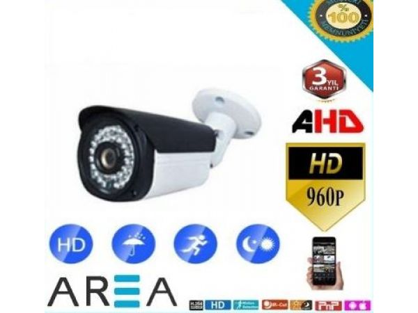 1.3 MP 36 LED AHD GÜVENLİK KAMERASI