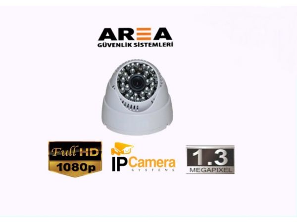 1.3 MP DOME İP KAMERA AR-9522