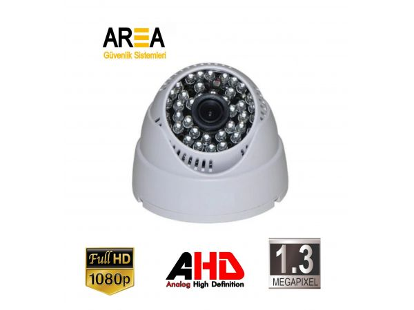 1.3 Mp 2.8 MM LENS AHD İç Mekan Dome Kamera AR-8992