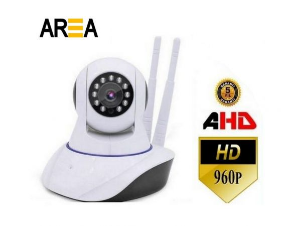FULL Hd Kablosuz 360 Derece Dönebilen Gece Görüşlü Kamera Bebek Güvenlik Kamerası