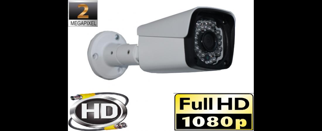 2 MP 1080P FULL HD Güvenlik Kamerası Metal Kasa