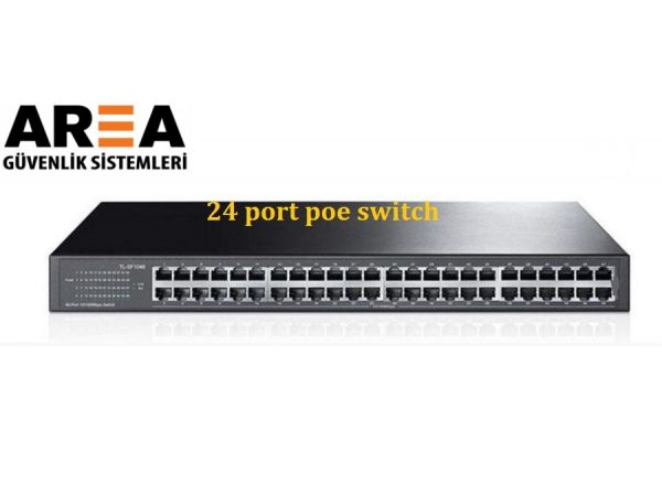 AREA 24 port  10/100/1000  poe switch