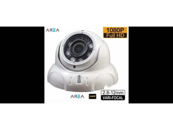 2 MP 1080P  6 Atom Led 2.8 MM -12MM  Varifocal Lens Dome Kamera AR-279